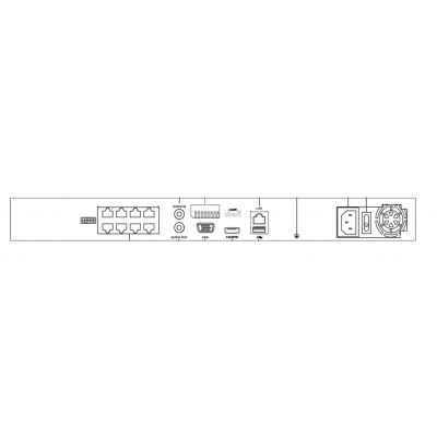 Hikvision DS-7608NI-K2/8P 8 Channel NVR 8POE up to 8MP