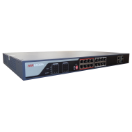 Power over Ethernet Switch DS-3E0318P-E 16 port PoE Dual 10/100/1000 uplink
