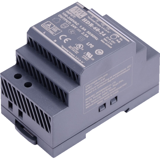 Hikvision DS-KAW60-2N Power Supply for use with 2-Wire intercom