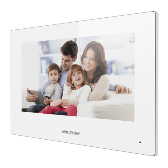 """HIKVISION DS-KH6320-WTE2-W - 7"""" 2-Wire Video Intercom indoor Station with WIFI"""