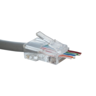 Cat5 EZRJ45C crimp ends x10 - requires EZRJ45T professional tool