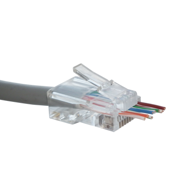 Cat5 EZRJ45C crimp ends x10 - requires EZRJ45T professional tool