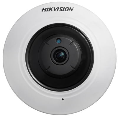 Hikvision DS-2CD2955FWD-IS 5MP 1.05mm 180° fisheye with 8m IR and audio/alarm inputs ---OPENEDBOX-UNUSED-6Months-WARRANTY---